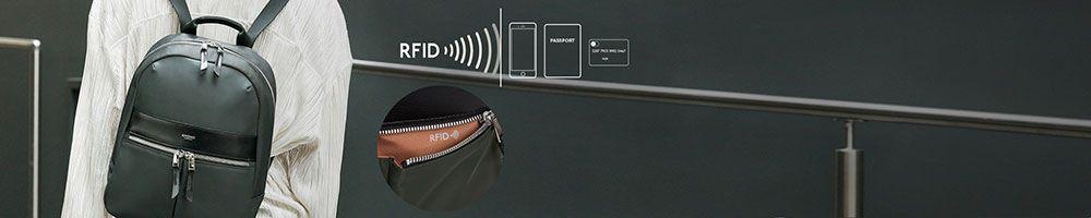 Tassen en portemonnees met RFID bescherming