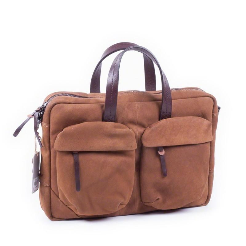 Cognac Pocket 15 Businessbag Burkely Laptoptas 2 Inch Camel n6wTfYqxX