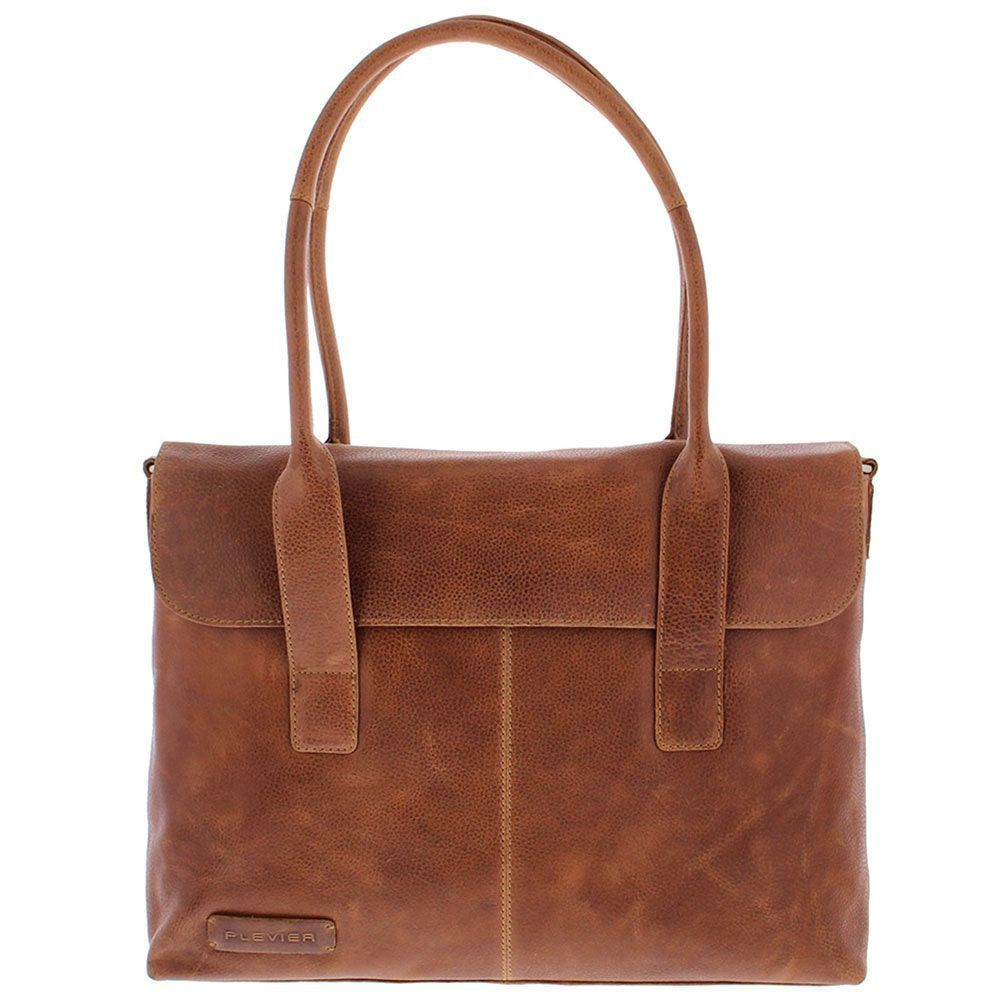 Macbook Tas Dames : Plevier dames businesstas cognac inch