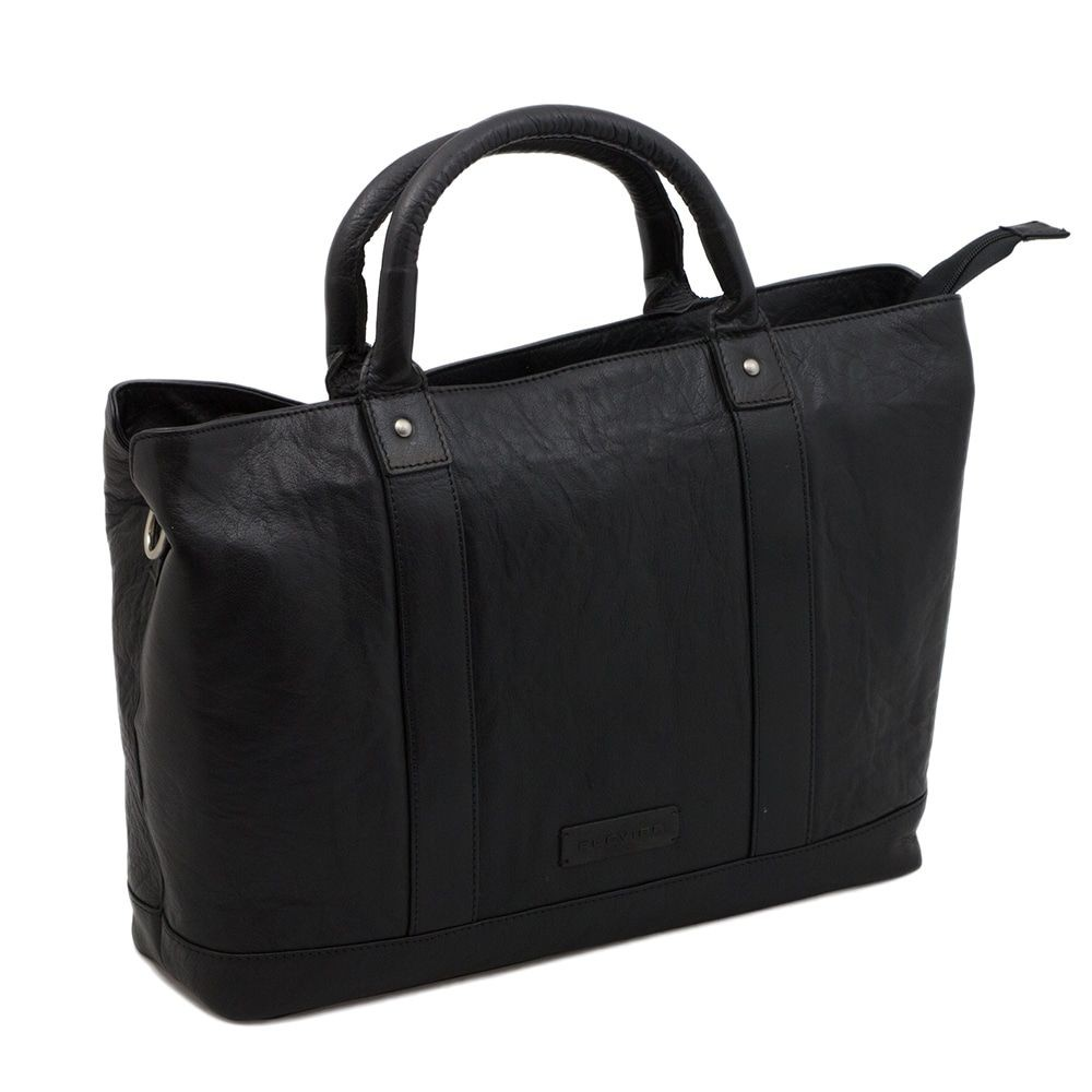 Macbook Tas Dames : Plevier leather dames business laptoptas zwart inch
