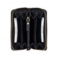 Burkely Eager Els Leather Wallet M Black Binnenkant