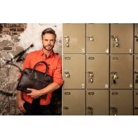 Burkely Leren Laptoptas 13.3 inch Fundamentals Vintage Jack Cognac Lifestyle