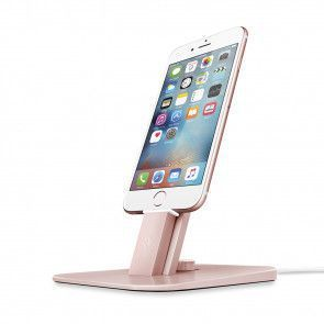 Twelve South HiRise Deluxe Rose Gold for iPhone and iPad voorkant
