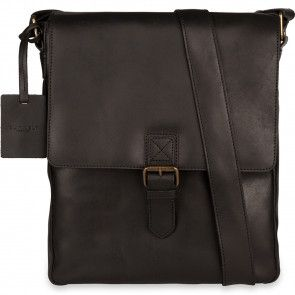 Burkely Vintage Kris Cross Over Shoulderbag Black