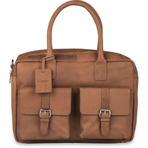 Burkely Finn Vintage Businessbag Classic Taupe 14 inch