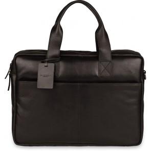 Burkely Jesse Vintage Shoulderbag Black 13 inch