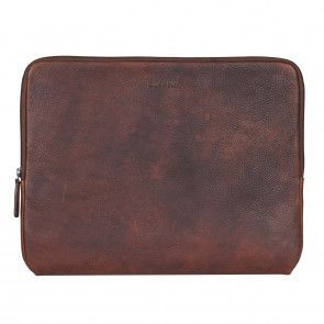 Burkely Antique Avery Laptop Sleeve Brown 13.3 inch Voorkant