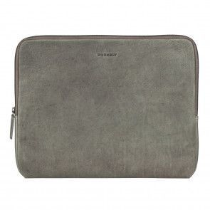 Burkely Antique Avery Laptop Sleeve Grey 13.3 inch Voorkant
