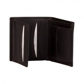 Burkely Dave Portemonnee Billfold High Black Open