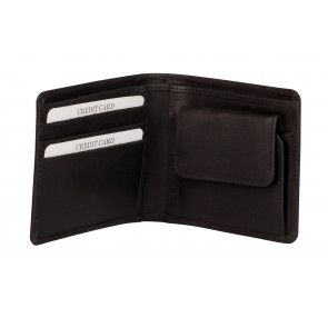 Burkely Dax Portemonnee Billfold Low Black Open
