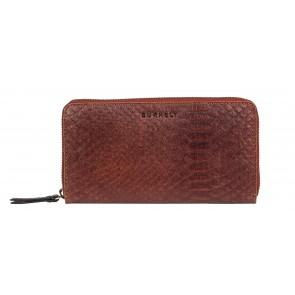 Burkely Eager Els Leather Wallet L Brandy Voorkant