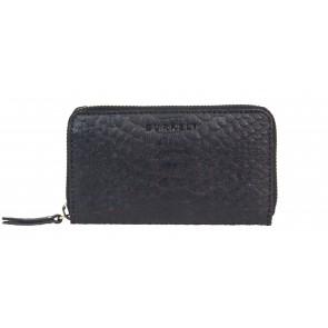 Burkely Eager Els Leather Wallet M Black Voorkant