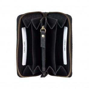 Burkely Eager Els Leather Wallet M Black Binnenkant