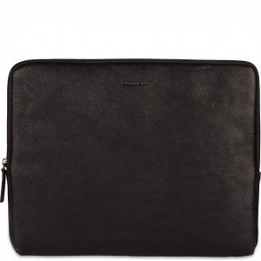 Burkely Antique Avery Laptop Sleeve Zwart 13.3 inch Voorkant