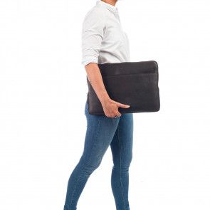 Burkely Leren Laptop Sleeve 15.6 inch Fundamentals Vintage Josh Bruin Model