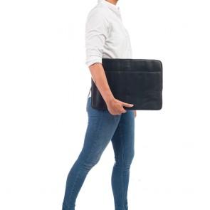 Burkely Leren Laptop Sleeve 15.6 inch Fundamentals Vintage Josh Zwart Model
