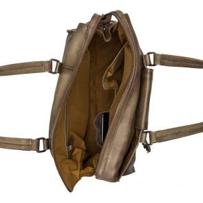 Burkely Noble Nova Handbag S Khaki Open