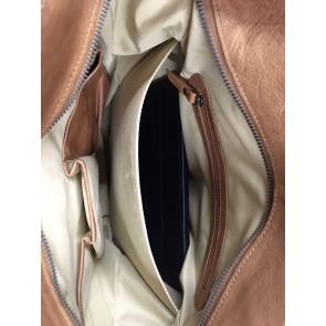 Burkely Noble Nova Shopper Cognac 12 inch laptop/iPad vak