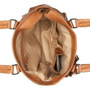 Burkely Noble Nova Shopper Cognac Open