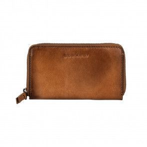 Burkely Noble Nova Wallet M Cognac Voorkant