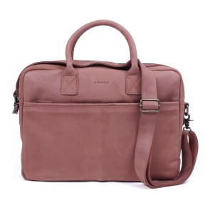 Burkely Filippa Workbag Brown 15 inch voorkant