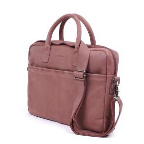 Burkely Filippa Workbag Brown 15 inch schuin voorkant rechts