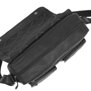 Chesterfield Dale Businessbag Black 15 inch Bovenkant