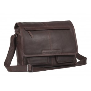 Chesterfield Dale Businessbag Brown 15 inch Voorkant