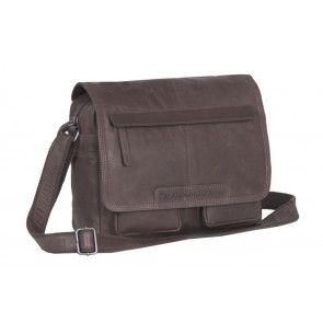 Chesterfield Dale Medium Schoulderbag Brown Voorkant