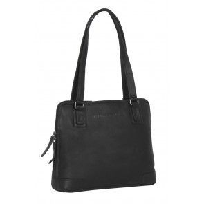Chesterfield Flint Shoulderbag Small Black Voorkant