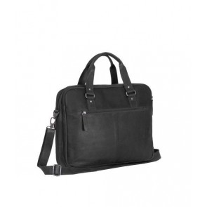 Chesterfield George Businessbag Black 15.6 inch Achterkant