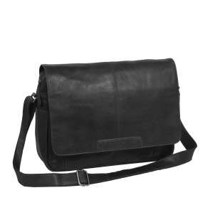 Chesterfield George Casual Messenger Black 15.6 inch Voorkant
