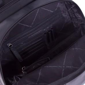 Chesterfield Leren Laptop Rugtas 15 inch Dex Zwart Open