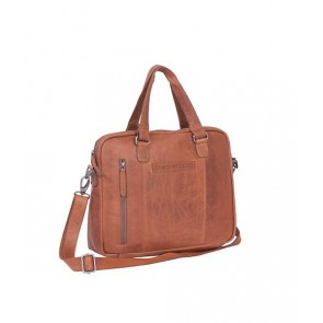 Chesterfield Maria Shoulderbag Cognac 15 inch Voorkant