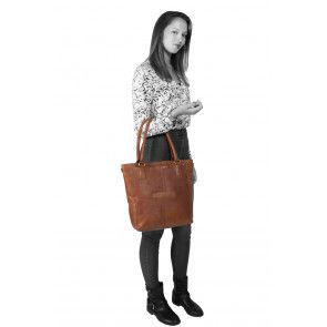 Chesterfield Oldham Shopper Cognac Model