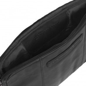 Chesterfield Richard Leather Sleeve Black 13.3 inch Open