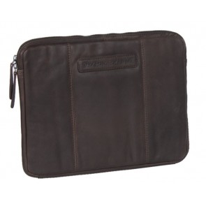 Chesterfield Richard Leather Sleeve Brown 13.3 inch Voorkant