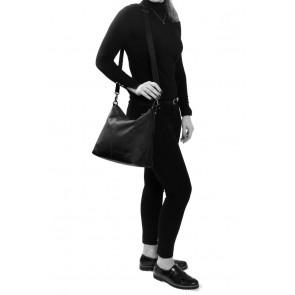 Chesterfield Victoria Leren Schoudertas Black Model