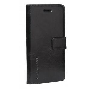 dbramante1928 Copenhagen Leather Wallet iPhone 6 Plus Black Voorkant