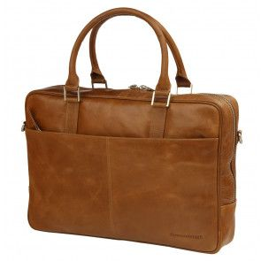 dbramante1928 Rosenborg Businessbag Tan 14 inch Voorkant