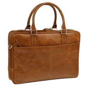 dbramante1928 Rosenborg Businessbag Tan 16 inch Voorkant