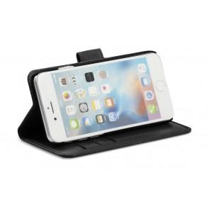 dbramante1928 Copenhagen 2 Leather Wallet iPhone 7 Black Stand