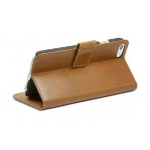 dbramante1928 Copenhagen 2 Leather Wallet iPhone 7 Tan Stand