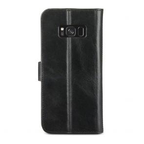 dbramante1928 Copenhagen 2 Leather Wallet Samsung Galaxy S8+ Hoesje Zwart Achterkant
