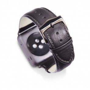 dbramante1928 Copenhagen Watch Strap 38mm Space Grey/Black omgekeerd