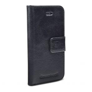 dbramante1928 Copenhagen Leather Wallet iPhone 5/5S/SE Hoesje Black Voorkant
