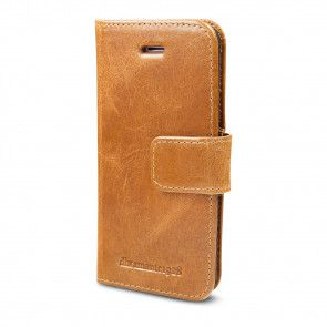 dbramante1928 Copenhagen Leather Wallet iPhone 5/5S/SE Hoesje Tan Voorkant