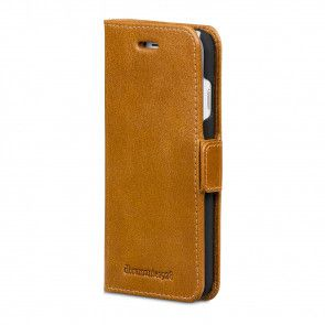 dbramante1928 Copenhagen Leather Wallet iPhone 8/7/6 Series Tan Voorkant