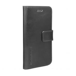 dbramante1928 Copenhagen Leather Wallet Samsung S6 Black voorkant schuin links