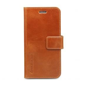 dbramante1928 Copenhagen Leather Wallet Samsung S6 Tan voorkant